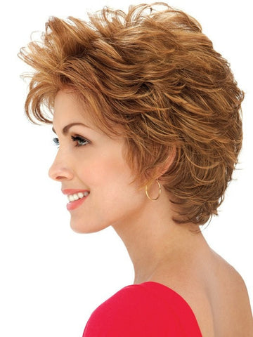 Estetica Designs Wigs Hazel : Profile View | Color R30/28/26