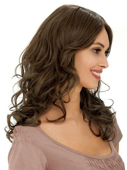 Estetica Designs Isable Wig : 100% Remi | Side View | Color R8