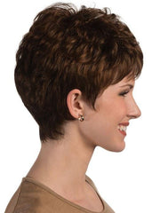 The capless design make this wig comfortable, lightweight, and cool to wear
