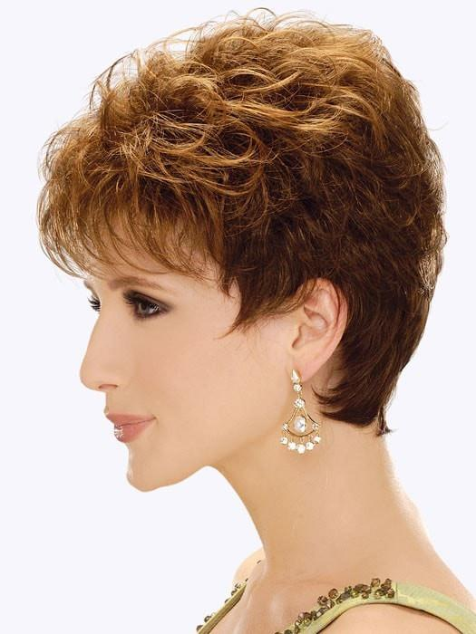 Estetica Designs Jordan Wig : Profile View | Color R6LF29