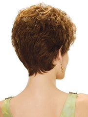 Estetica Jordan Wig : Back View | Color R6LF29