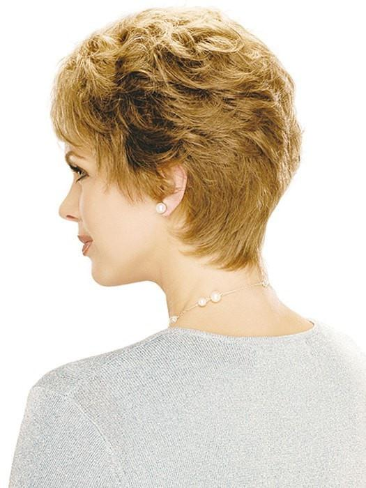 Estetics Designs Jordan Wig : Profile View | Color R12/26H