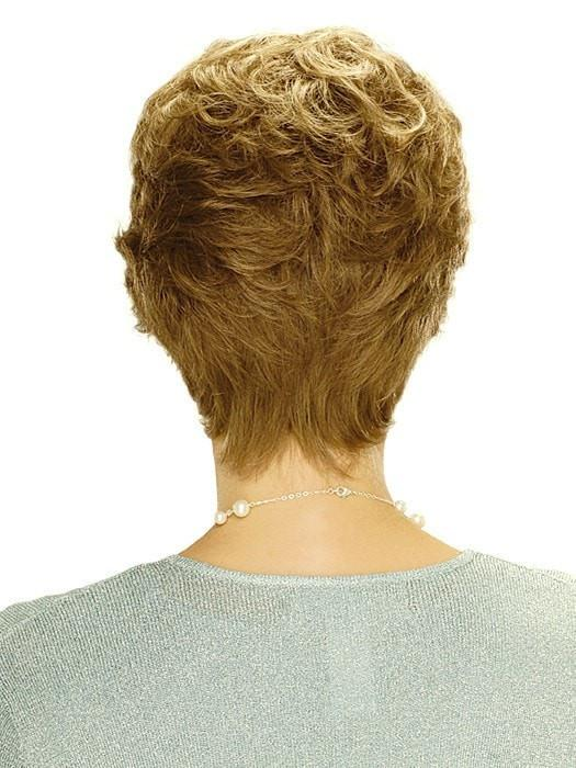 Estetics Jordan Wig : Back View | Color R12/26H