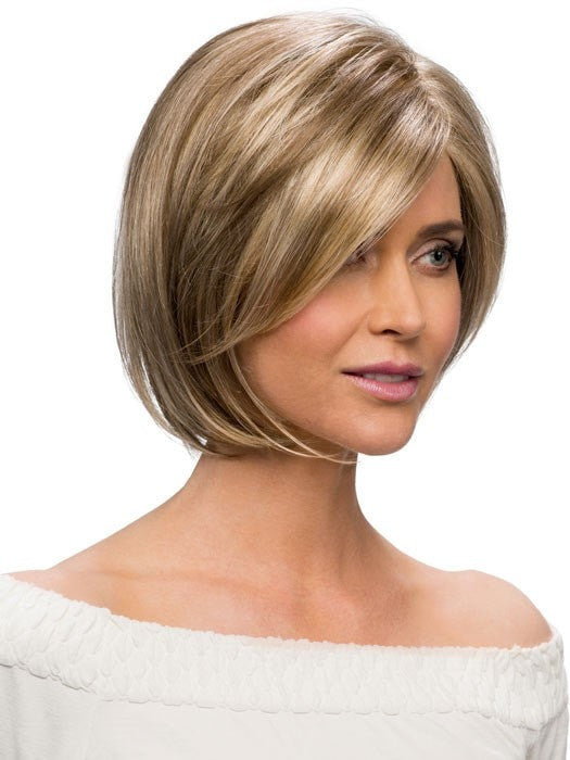 Estetica Designs Wigs Keira Wig : Side View | Color R12/26CH