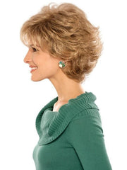 Estetica Designs Mandy Wig : Profile View | Color R24/18BT