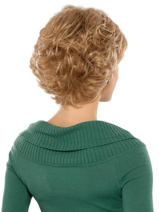 Estetica Designs Wigs Mandy Wig : Back View | Color R24/18BT