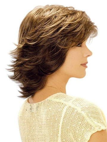 Estetica Designs Natalie Wig : Profile View | Color R14/8H