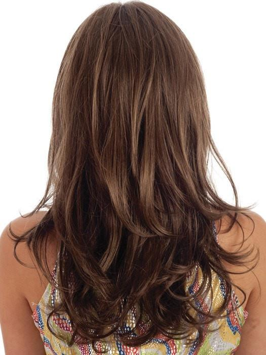 R8LF14 | Golden Brown Lightening to Dark Blonde Mix in Front