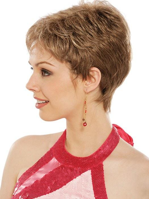 Estetica Wigs Petite Nancy Wig : Side View | Color RH268