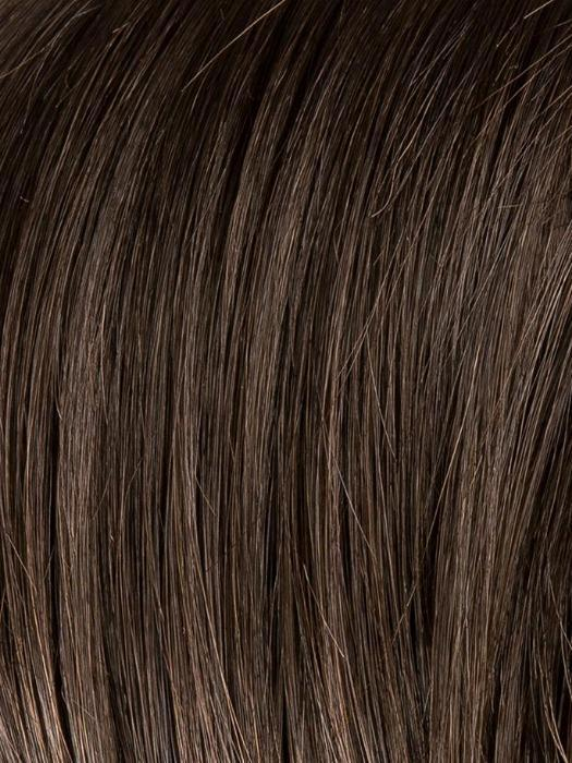 ESPRESSO ROOTED 2.4 | Darkest Brown base with a blend of Dark Brown and Warm Medium Brown throughout with Dark Roots