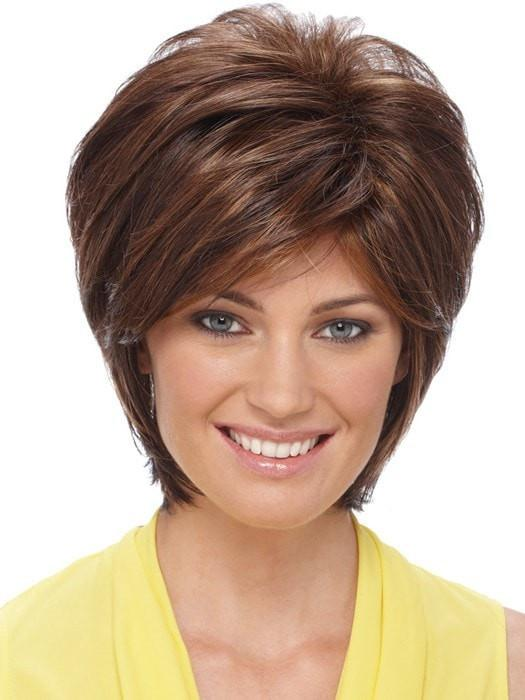 Renae by Estetica: Color R6/28F (Chestnut Brown with Red Frost)
