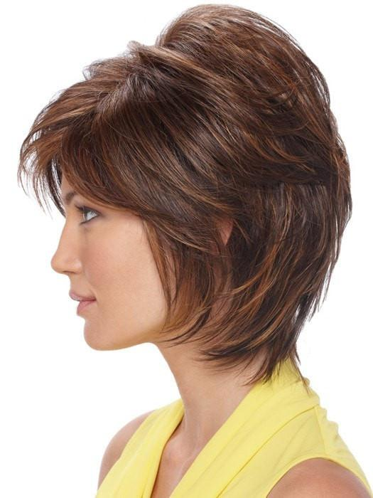 Estetica Renae Wig : Capless | Profile View | Color R6/28F