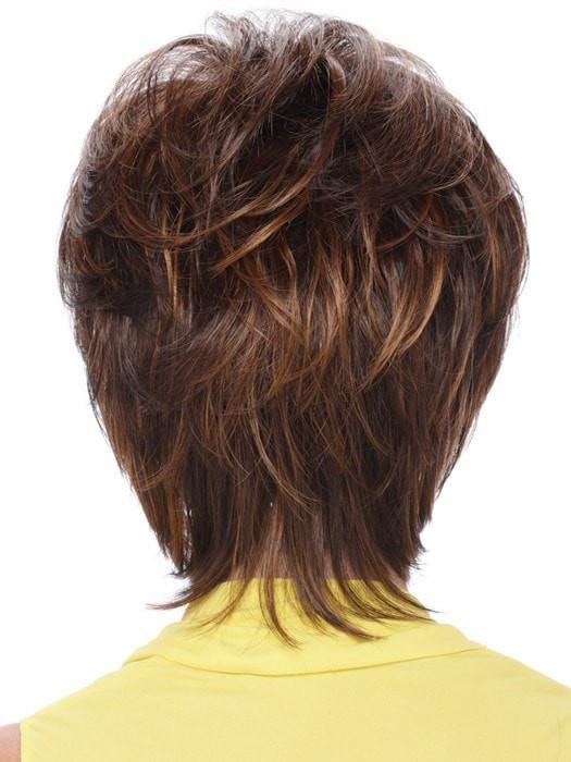 Estetica Renae Wig : Back View | Color R6/28F
