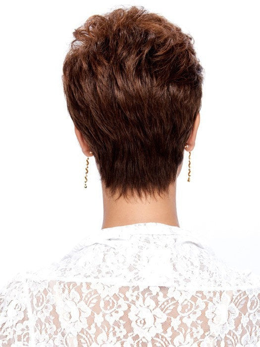 Estetica Designs Robin Wig : Back View | Color R6LF29