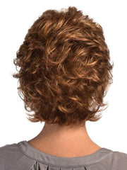 Estetica Shelby Wig : Back View | Color R30/28/26