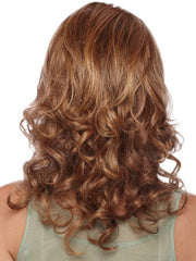 Estetica Designs Wigs Tiffani : Back View | Color R30/28/26