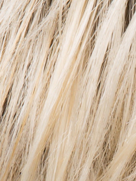 CHAMPAGNE ROOTED | Light Beige Blonde,  Medium Honey Blonde, and Platinum Blonde Blend with Dark Roots