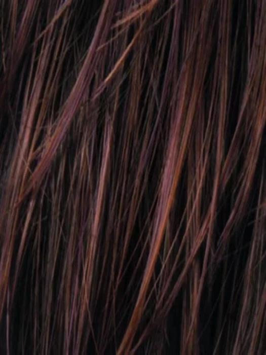 CINNAMON BROWN ROOTED | Med Auburn Dark Auburn and Dark Brown Roots