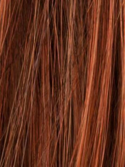 HOT CINNAMON MIX | Dark Auburn, Medium Auburn-Copper mix, blended with Bright Copper