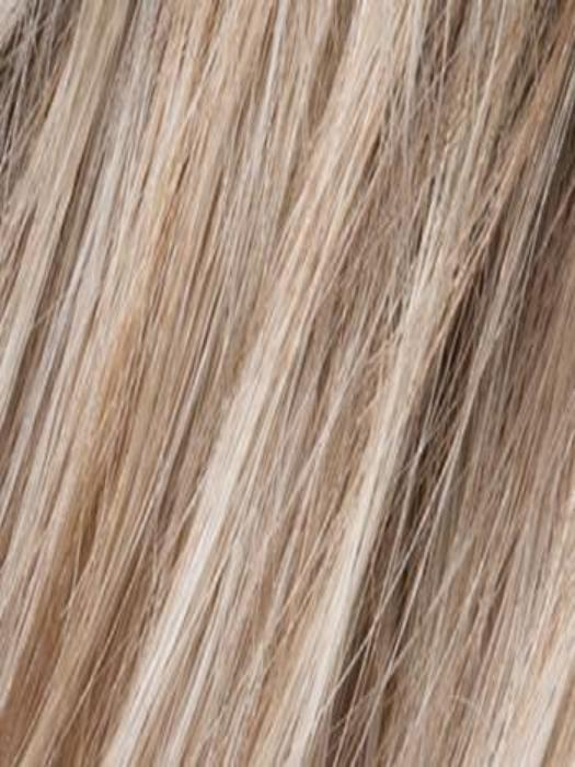 PEARL BLONDE ROOTED | Pearl Platinum, Dark Ash Blonde, and Medium Honey Blonde mix