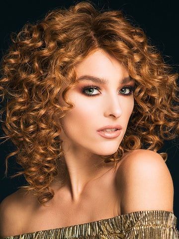 Soul by Ellen Wille in SOFT COPPER ROOTED | Medium Auburn, Copper Red and Light Auburn blend with Dark Roots