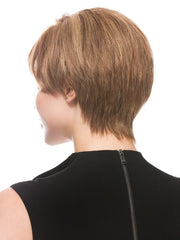 Tapered neckline provides coverage and comfort