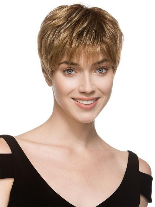 BO MONO by Ellen Wille in LIGHT BERNSTEINE MIX |  Light Brown Base with Subtle Light Honey Blonde and Light Butterscotch Blonde Highlights