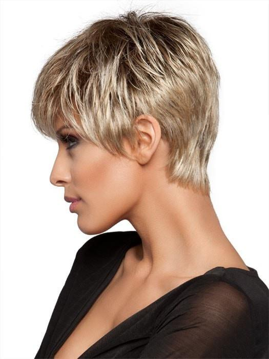 It's a sassy, sophisticated style with texture on the top and a tapered neckline