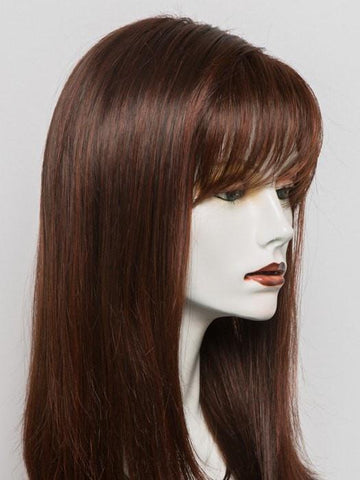 CARRIE by Ellen Wille in CHOCOLATE MIX | Medium to Dark Brown Base with Light Reddish Brown Highlights