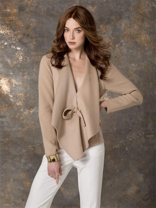 CASCADE by Ellen Wille in CHESTNUT-MIX | Dark Auburn, Medium Auburn, and Warm Medium Brown blend