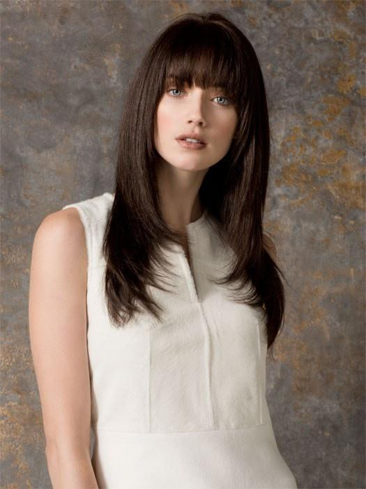 CASCADE by Ellen Wille in ESPRESSO MIX | Darkest Brown Base with a Blend of Dark Brown and Warm Medium Brown throughout