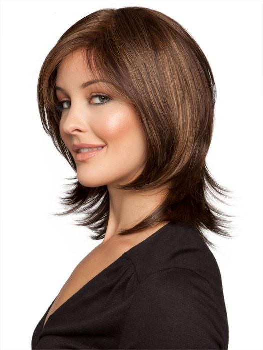 CASINO MORE by Ellen Wille in CHOCOLATE MIX | Medium to Dark Brown Base with Light Reddish Brown Highlights