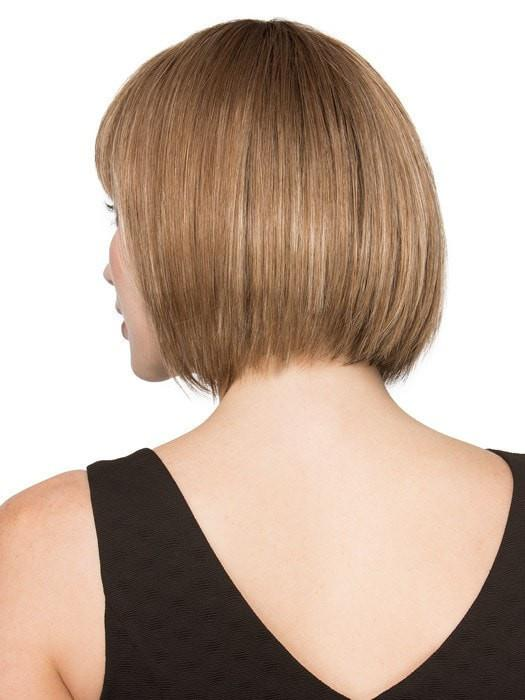 Subtle layering on the ends add to the natural look