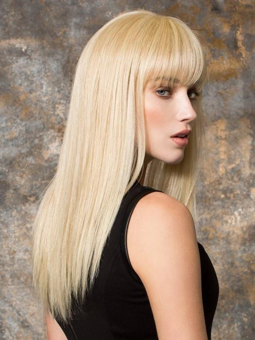 Super straight layers give you a salon styled look in seconds