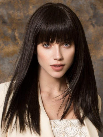 CHER by Ellen Wille in ESPRESSO MIX | Darkest Brown Base with a Blend of Dark Brown and Warm Medium Brown throughout