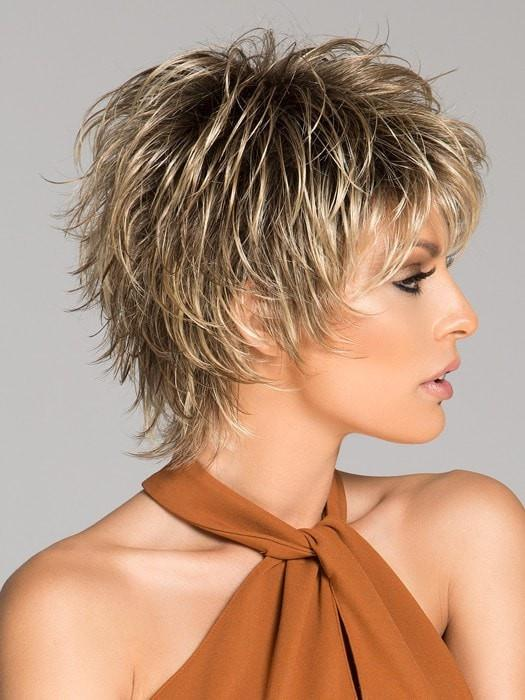 Ellen Wille Click | Choppy Short Wigs, layered and tousled to create a sophisticated but edgy style