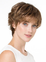 Rounded bang can be thinned and trimmed by your stylist