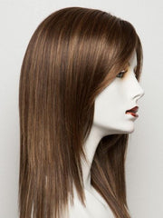 HOT MOCCA ROOTED | Warm Medium Brown, Light Auburn, and Dark Auburn Blend