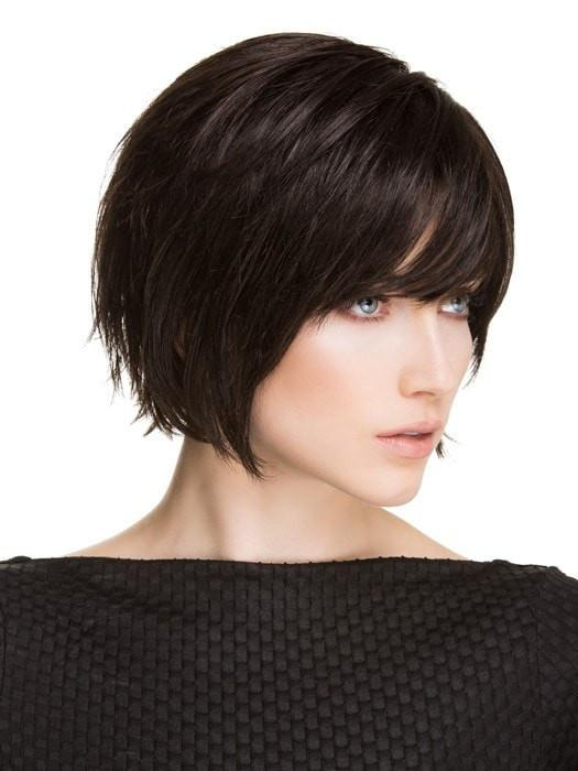 ECHO by Ellen Wille in ESPRESSO MIX	 | Darkest Brown Base with a Blend of Dark Brown and Warm Medium Brown throughout