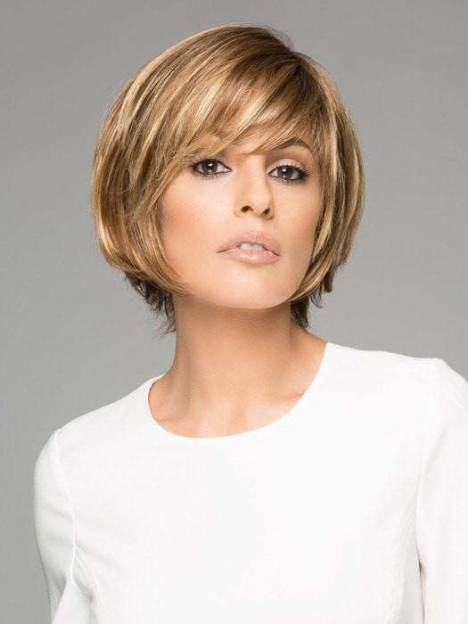 ECHO by Ellen Wille | Short Synthetic Lace Front Wig with a Left Monofilament Part