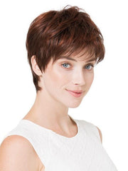 FAIR MONO by Ellen Wille in AUBURN ROOTED | Dark Auburn, Bright Copper Red, and Warm Medium Brown Blend with Dark Roots