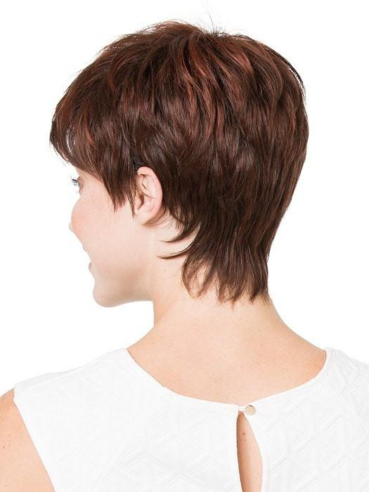 Tapered neckline and extra confort