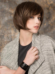 FRESH by Ellen Wille in CHOCOLATE ROOTED | Medium to Dark Brown Base with Light Reddish Brown Highlights and Dark Roots