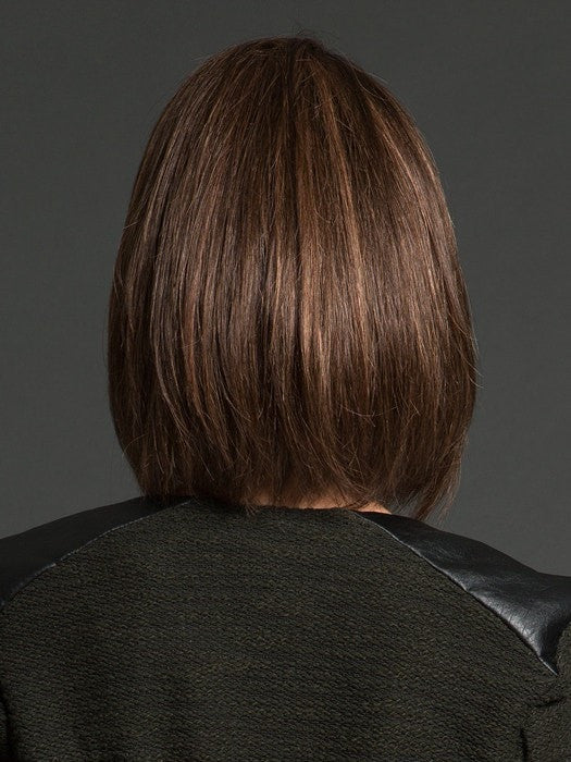 Long layers allow the hair to curve under