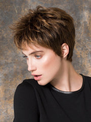 GO LACE by Ellen Wille in HAZELNUT ROOTED | Medium Brown Base with  Medium Reddish Brown and Copper Red Highlights and Dark Roots