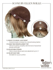 100% Hand-Tied Monofilament Cap with Lace Front