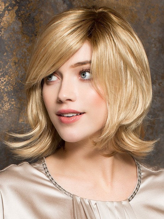 Shoulder length bob with flipped ends