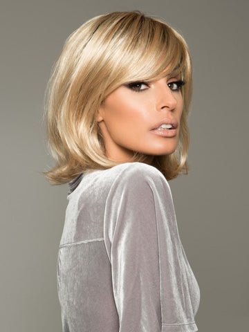 LUCKY by Ellen Wille in SAND MULTI ROOTED | Lightest Brown and Medium Ash Blonde Blend with Light Brown Roots