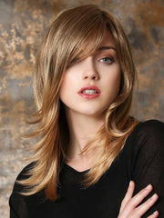 MARUSHA MONO by Ellen Wille in SAND LIGHTED | Dark Blonde, Light Auburn, and Light Honey Blonde blend