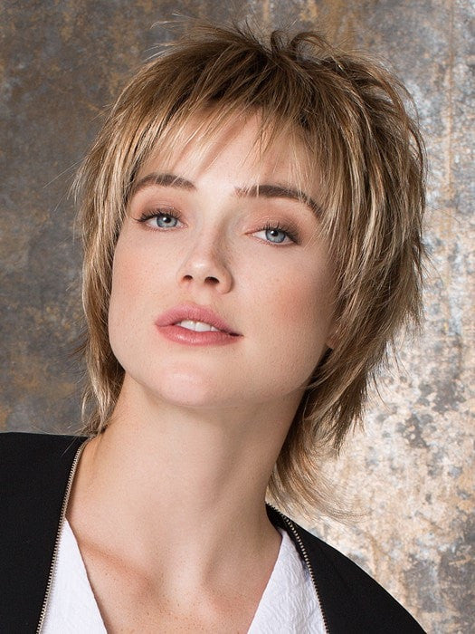 PLAY by Ellen Wille in DARK SAND MIX | Light Brown Base with  Lightest Ash Brown and Medium Honey Blonde Blend